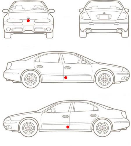 commuter van damage inspection diagram 24v transformer wiring overhead car vehicle www imagessure com pin sheets cars on pinterest jpg 450x500