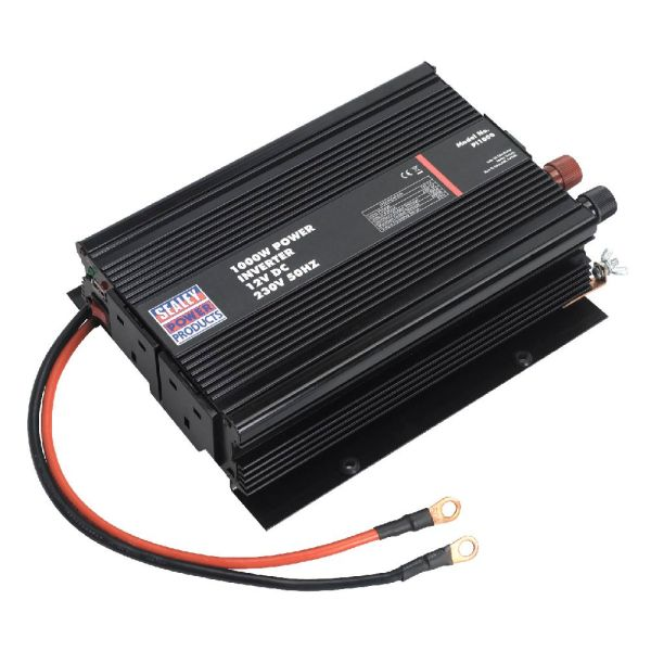 Sealey 1000w Power Inverter 12v Dc 230v Inverters Work Tools Pi1000