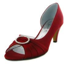 Burgundy Wedding Shoes Heels