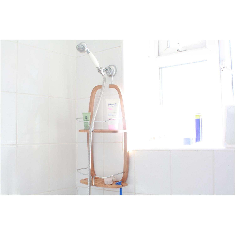 Bambus Zum Aufhngen Badezimmer Dusche Regal Korb Ordentlich Verstauen Sauber  eBay