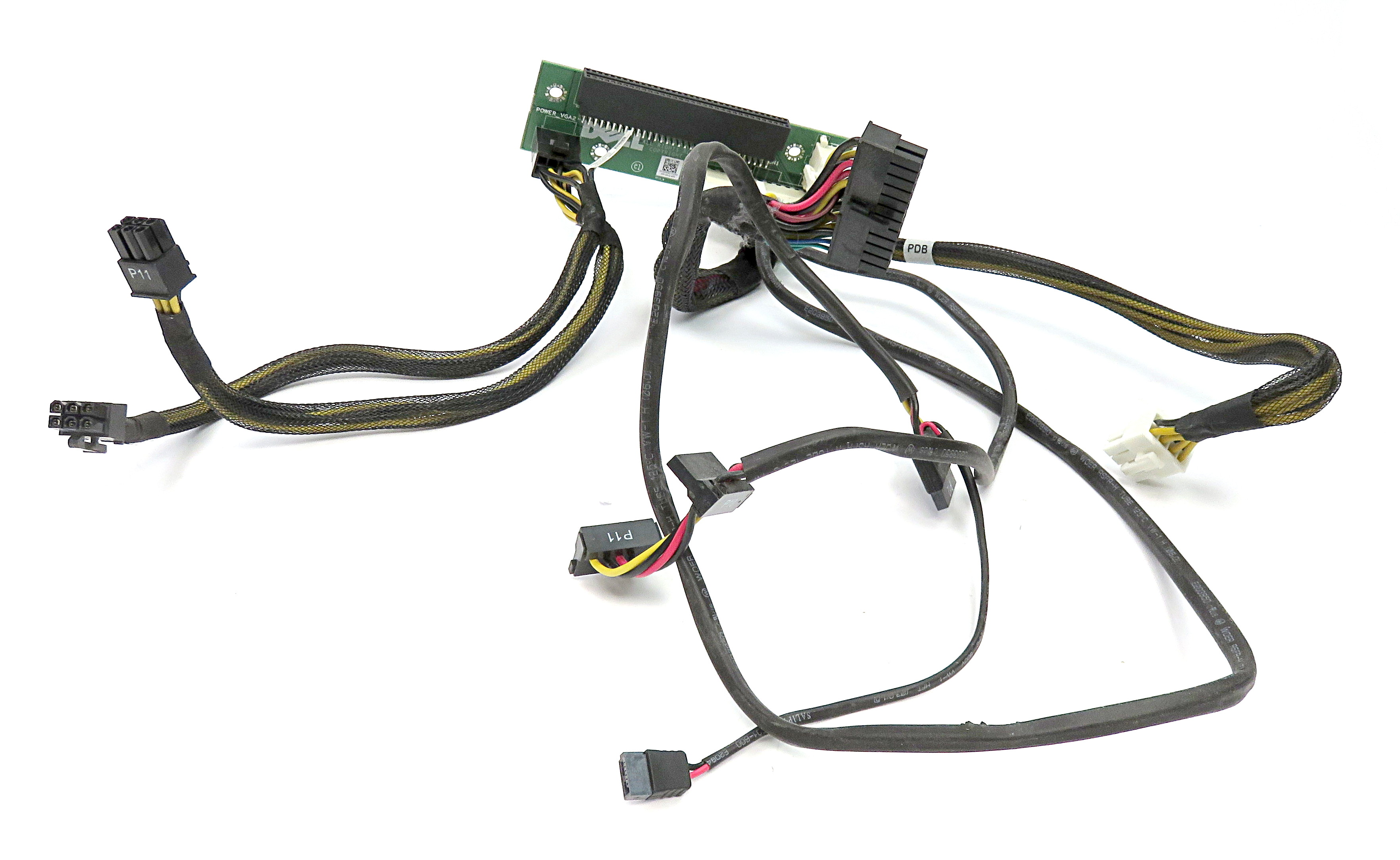 /Dell 599RD Power Distribution Board Backplane & Cables f
