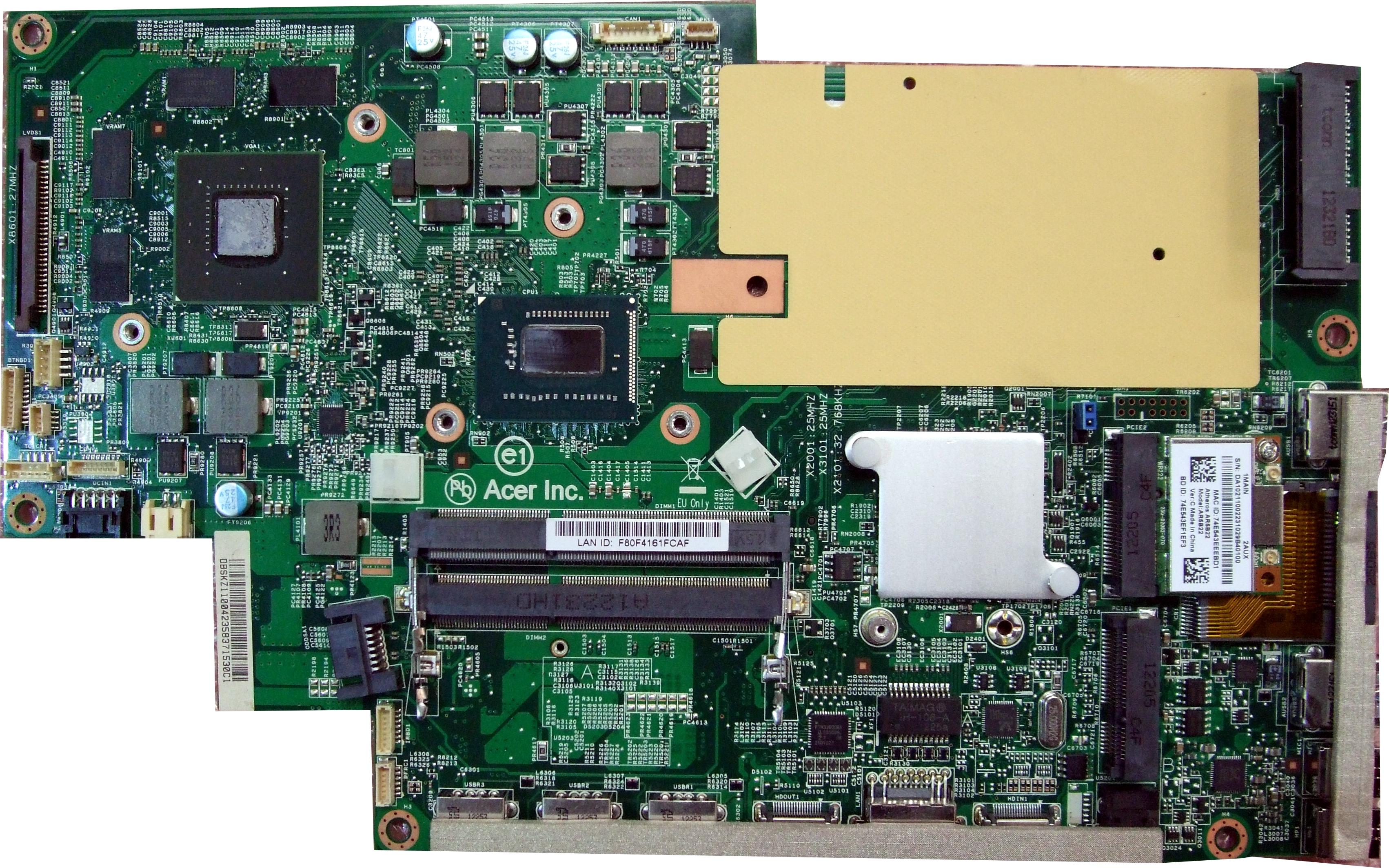 Acer Pdf Motherboard Manual
