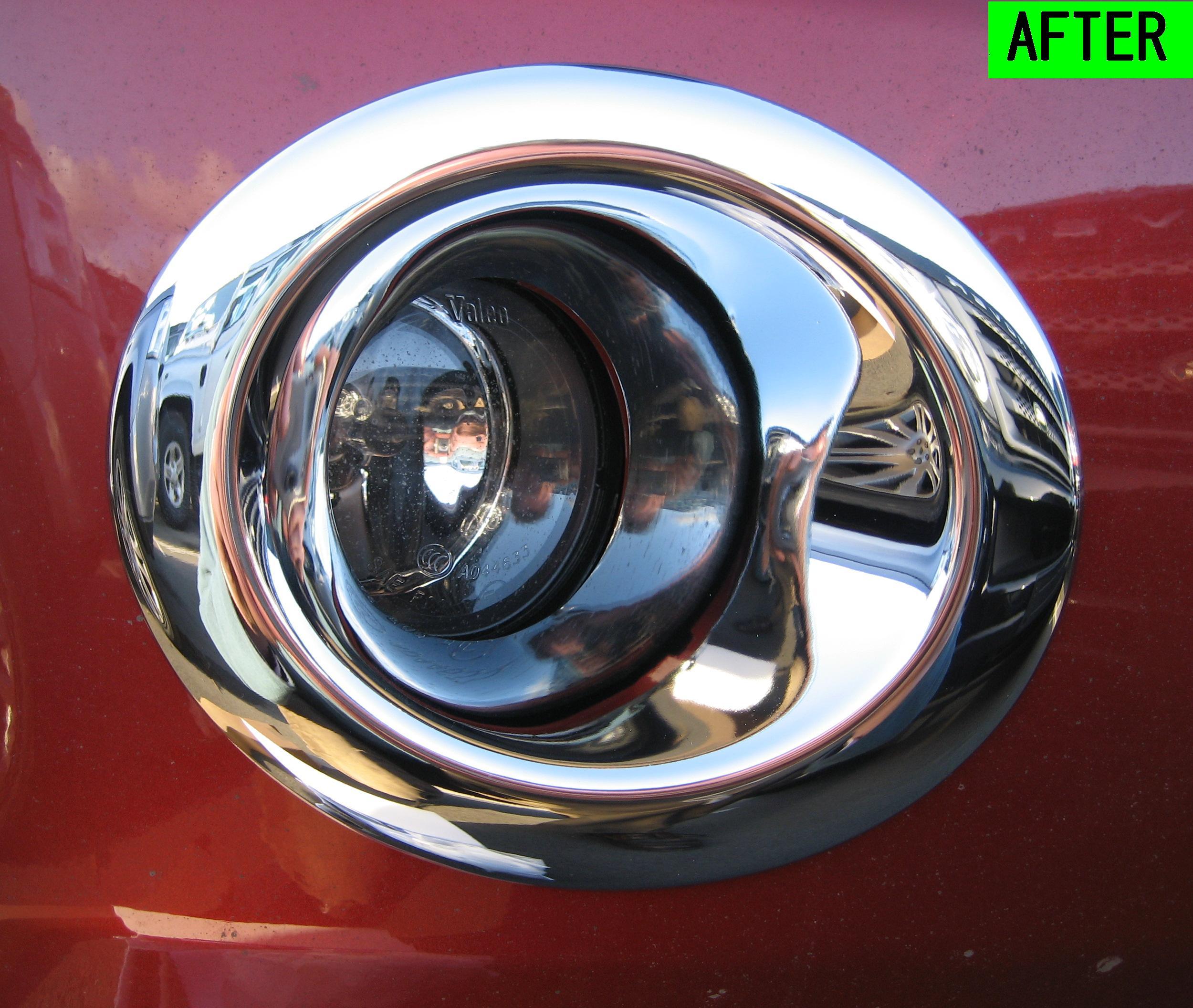 Chrome Fog Lamp Light Lamp Cover Trim Land Rover
