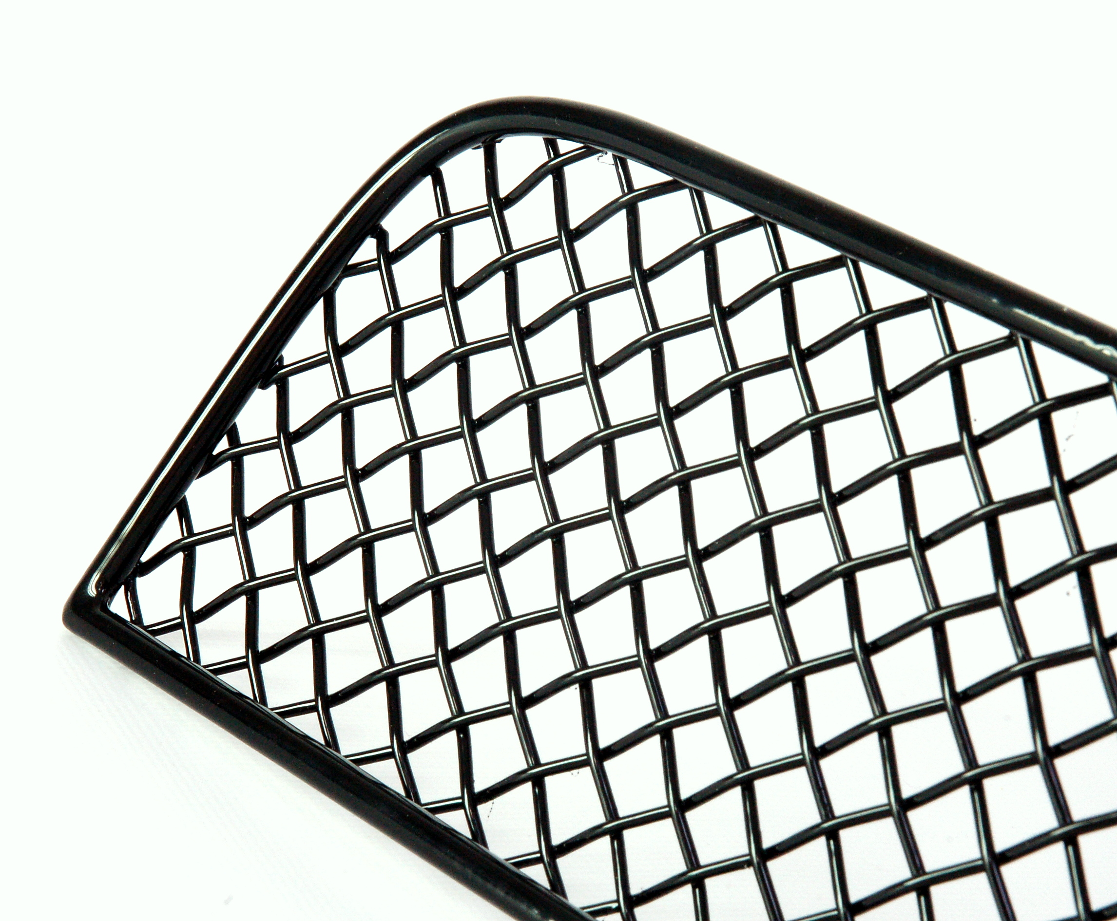 BLACK front bumper wire MESH GRILLE for Range Rover Sport
