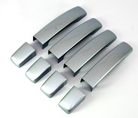 ZERMATT SILVER DOOR HANDLE covers for Land Rover Discovery