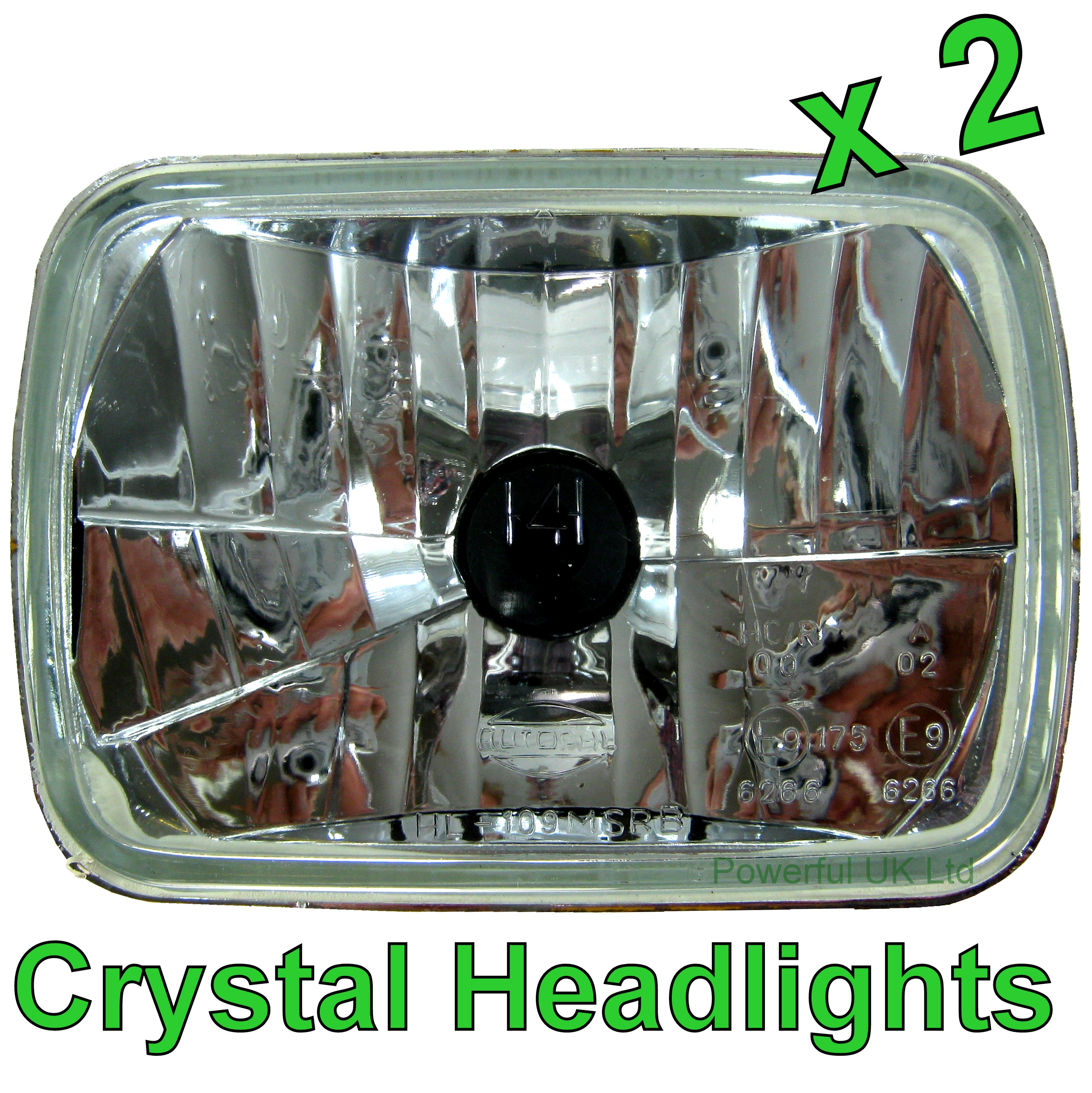 1992 toyota hilux surf wiring diagram two lights one switch uk pair of crystal h4 headlamps headlights