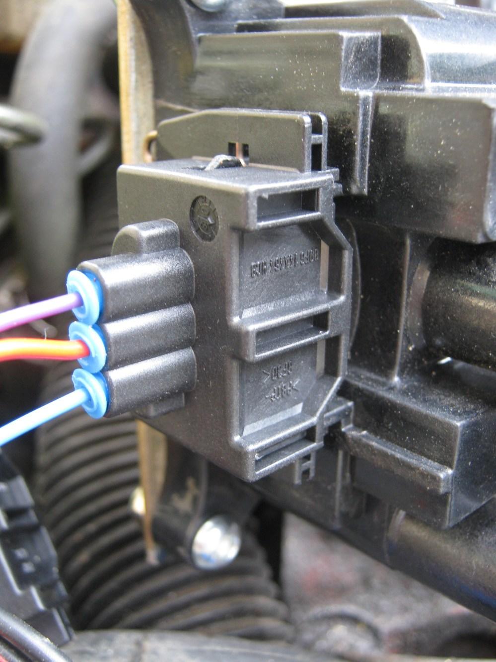 medium resolution of ford edis coil pack connector plug megasquirt 4cyl ecu ka sierra escort focus ebay