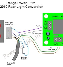 2010 led fog light flash fix for range rover l322 02 04 ebay land rover discovery engine diagram land rover discovery relay diagram [ 1781 x 1317 Pixel ]