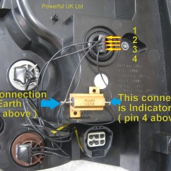 How To Wire A Ballast Resistor Diagram 2006 Dodge Durango Stereo Wiring Led Rear Light Resistors X2 For Range Rover
