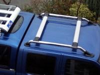 Roof Bar Kit Rack for Nissan Navara D22 Chrome Outlaw ...