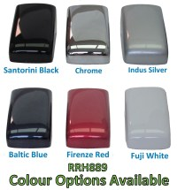 Indus Silver Door Handle Covers for Range Rover Sport 2010