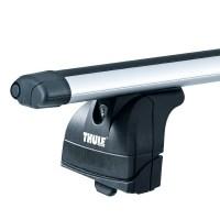 Thule 753 Foot Pack & Thule 869 Roof Bars Rails Rack Free ...