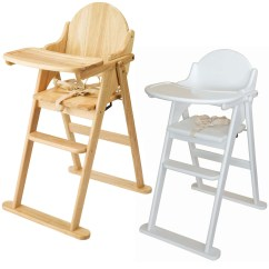 High Chairs Uk Chair Cover Hire Johannesburg East Coast Folding Highchair Solid Wood Baby Child Toddler