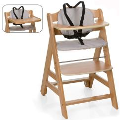 Wood Toddler Chair My Little Pony Table And Chairs B M Hauck Natural Beta 43 Go With You Wooden Highchair Baby