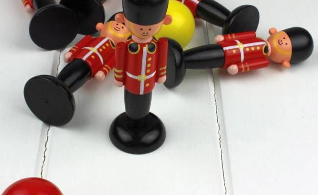 Orange Tree Toys Soldier Skittles Wooden British Queen S