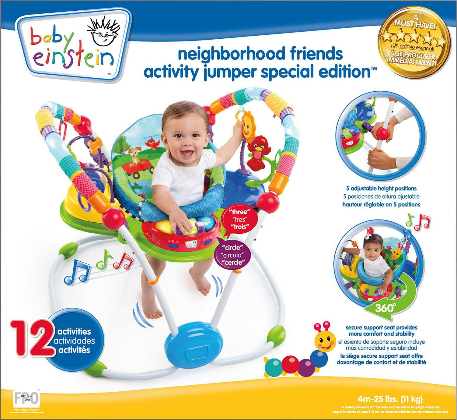 Baby Einstein Neighbourhood Friends Activity Jumper Baby Walker