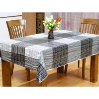 Wipe Clean PVC Vinyl Tablecloth Dining Kitchen Table Cover ...