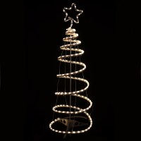Indoor / Outdoor Xmas Rope Light Decoration - Warm White ...