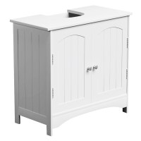 Riana Richmond White Under Basin Bathroom Cabinet Toilet ...