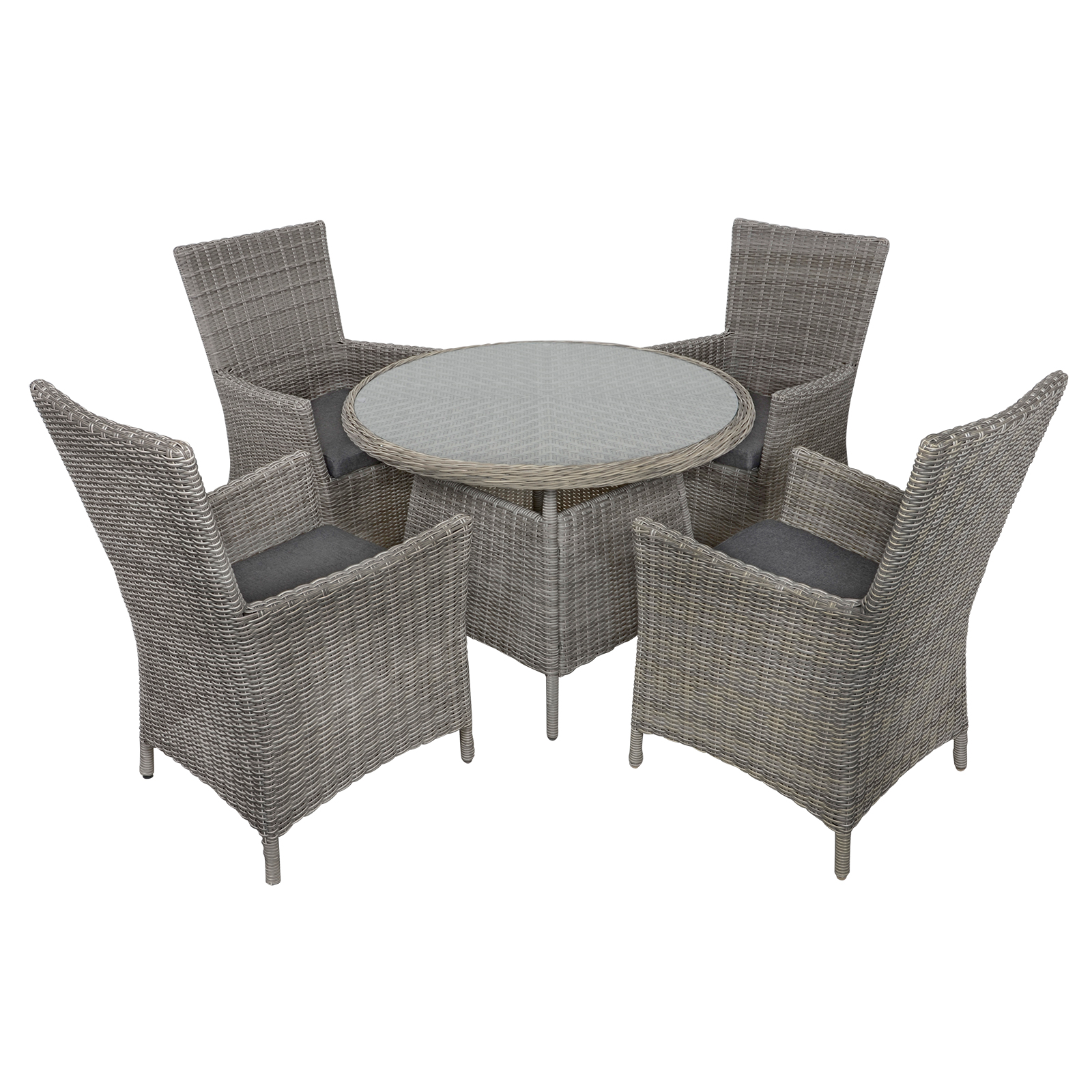rattan garden chairs and table folding chair that fits in your pocket belize wicker 4 seat patio furniture dining