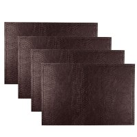 Set Of 4 Coasters / Place Mats Dining Tableware - Glitter ...