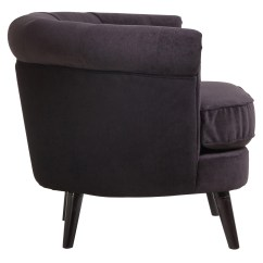 Black Chair Covers Ebay Summer Winds Patio Chairs Armchair 39olivia 39 Design Wooden Frame Fabric