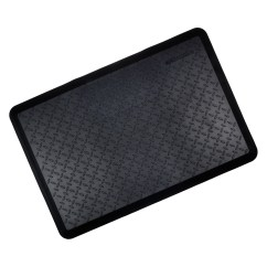 Anti Fatigue Mats Kitchen Door Mounted Garbage Can With Lid Black Cushioned Ortho Floor Mat Work