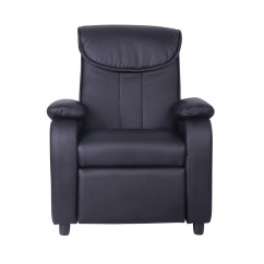 Leather Recliner Chairs Modern Uk Ikea Cotton Chair Covers Kids Childrens Faux Padded Reclining