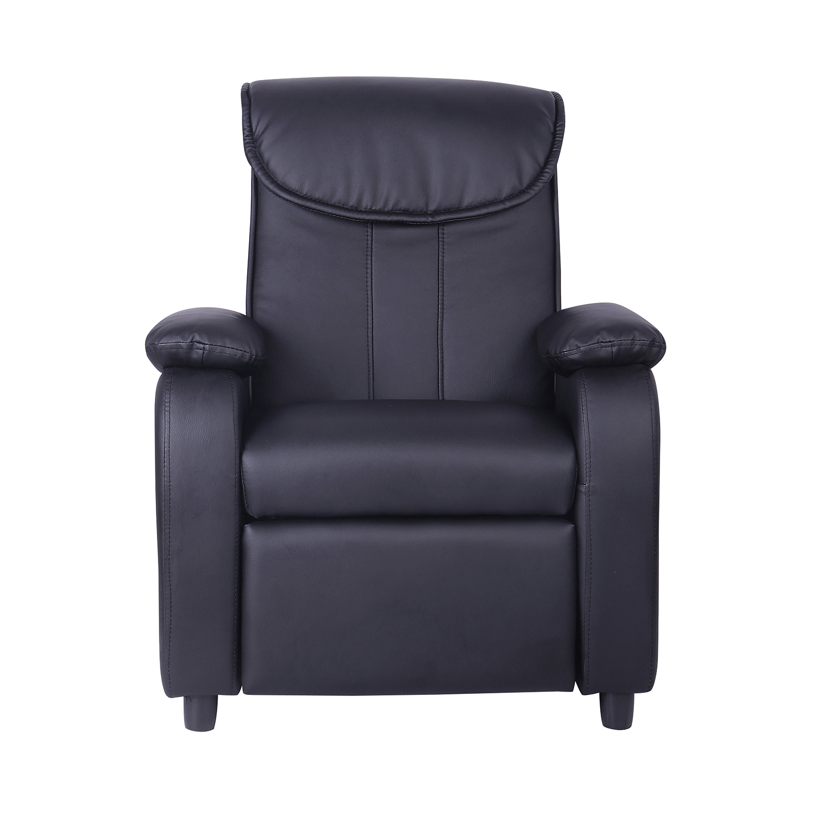 Faux Leather Chair Kids Childrens Faux Leather Padded Reclining Recliner