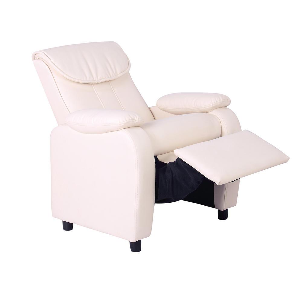 Kids Reclining Armchair Comfortable Furniture Padded Headrest