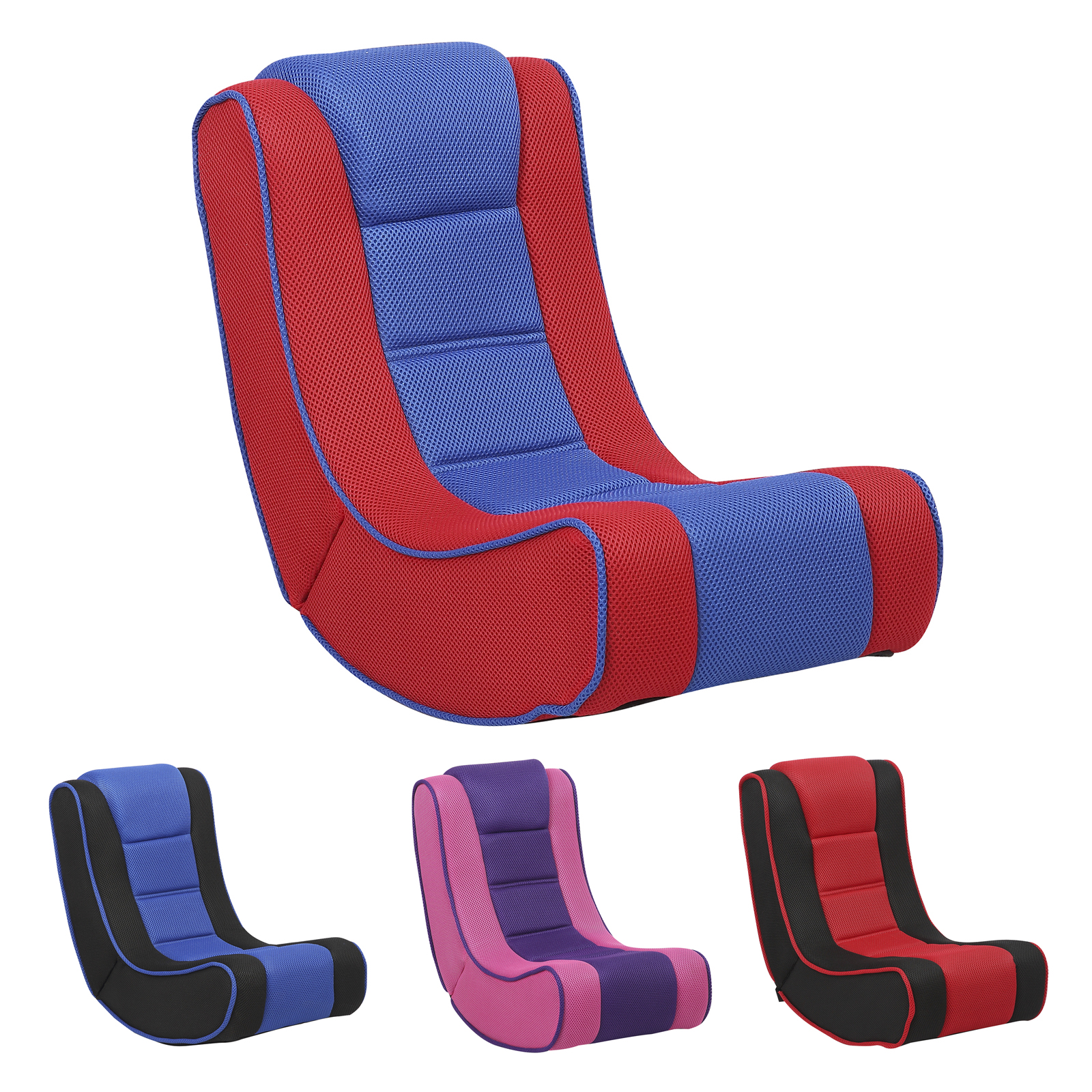 Foldable Gaming Chair Kids Lightweight Folding Gaming Chair Comfortable Padded