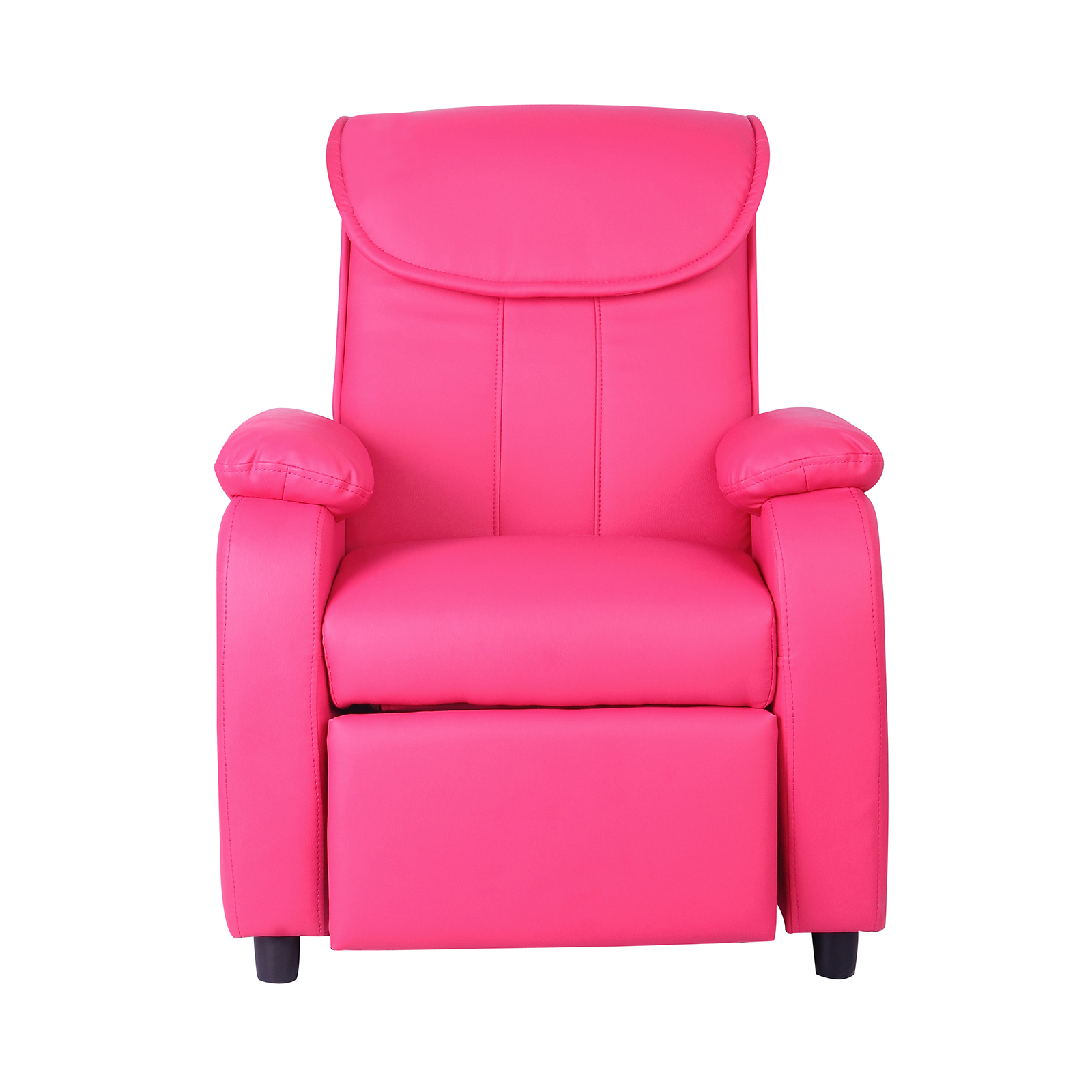 comfy chairs for toddlers wedding chair covers with arms uk childrens luxury recliner faux leather