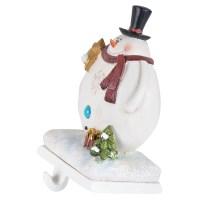Christmas Stocking Holder Heavy Resin Decoration Xmas Fun ...