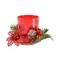 Village Candle Votive Holder Gift Set Festive Christmas ...