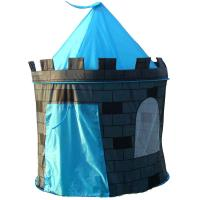 Kids Boys Blue Prince Castle Indoor Outdoor Play Tent New