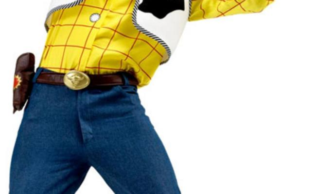 Toy Story Woody Adult Size Fancy Dress Halloween Party Costume