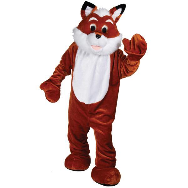 Adults Foxy Fox Animal Giant Mascot Fancy Dress Charity
