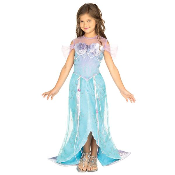 Girls Rubies ' Pretend Deluxe Mermaid Prncess Fancy