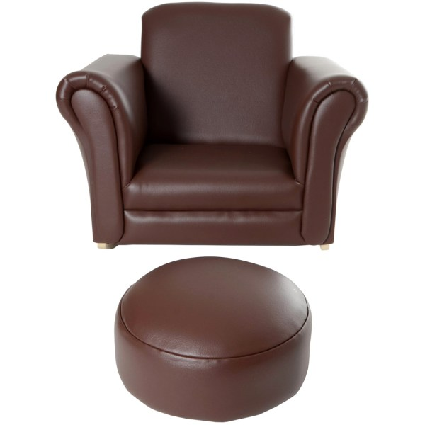 Children Faux Leather Armchair Kid Making Year Of Clean Water