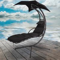 Azuma Dream Chair Swing Hammock Garden Sun Seat Chair - Black