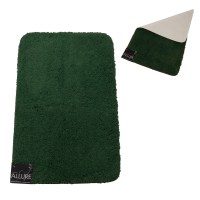 Forest Green 3 Piece Bathroom Rug Set