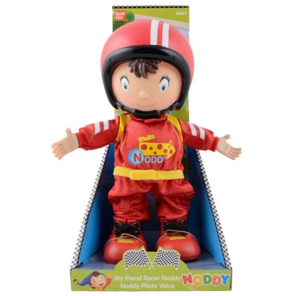 Friend Racer Noddy Doll Figure Soft Cuddly Toy With Plastic Head Feet & Hands