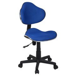 Comfortable Swivel Chair Kitchen Stool Chairs Blue Adjustable Computer Desk Office