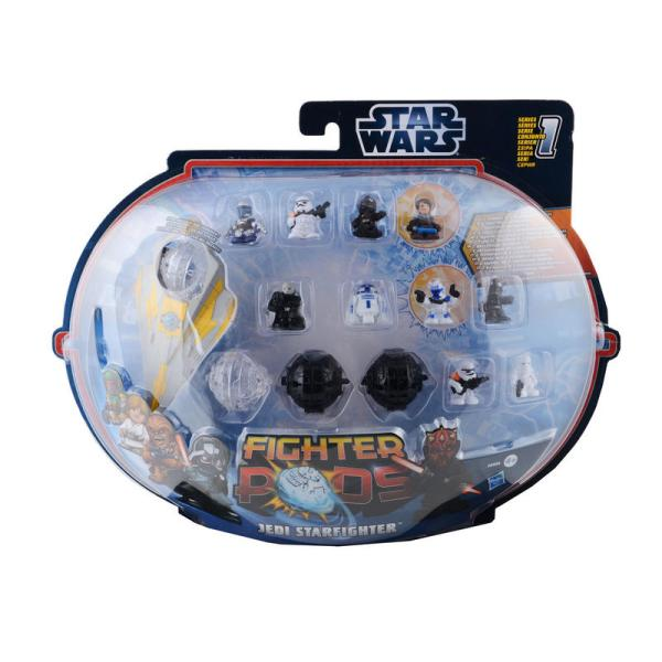 Childrens Star Wars Fighter Pods Battle Toy Game Film Tv - Figures Vary