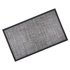 Gray Kitchen Mat Outdoor Kitchens For Sale Large Black Grey Brown Pvc Modern Home Hall Door