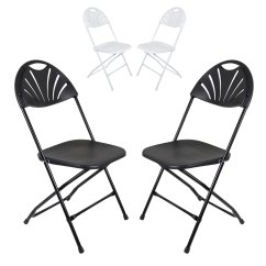 Job Lot Folding Chairs Wicker Rocking Outdoor Set Of 2 Plastic With Sunrise Backrest