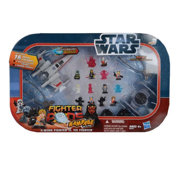 Star Wars Fighter Pods Rampage Battle Game X-wing Tie