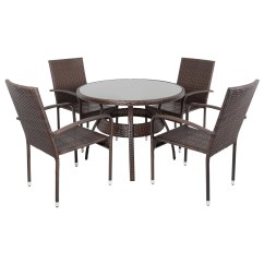 Costco Dining Chairs Modern Bedroom Ravenna Rattan Wicker Aluminium Garden Patio Table
