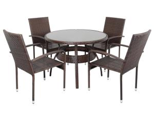 Glass Top Patio Table And Chairs