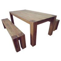Braemar Rectangular Oak Wood Dining Kitchen Table